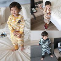 女童套装婴儿春装运动裤子1岁3个月6男宝宝9春秋季卫衣外套
