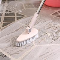 浴室地板刷硬毛长柄清洁刷卫生间浴缸刷户外瓷砖地砖去污洗地刷子