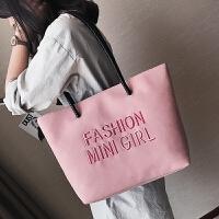 女包大包包2018新款日韩版时尚潮托特包简约百搭休闲手提包单肩包