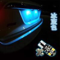 起亚福瑞迪赛拉图佳乐秀尔狮跑智跑索兰托改装LED牌照灯 K2K3K4 智跑索兰托(双尖31mm4灯)