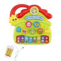 儿童电子琴6-12个月婴儿早教小钢琴宝宝0-3岁婴幼儿1音乐玩具