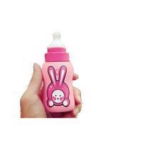 可爱奶瓶充电宝10000毫安苹果安卓通用卡通防水防摔移动电源 粉红色+精美礼品