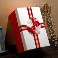 超大礼品盒大号长方形礼物盒子伴手礼盒生日礼物包装盒礼盒包装盒