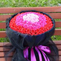 创意礼品情人节香皂花 生日礼物玫瑰花束肥皂花礼盒送女生母亲浪漫