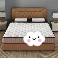 床垫 天然乳胶床垫1.8m1.5米双人软硬两用椰棕弹簧床垫
