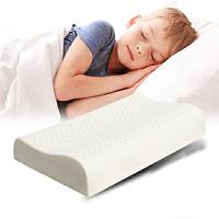 儿童乳胶枕头 2-7岁幼儿园学生护颈枕头 橡胶枕芯 记忆枕 卡通枕套 宝宝爱不释手