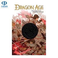 英文原版 龙腾世纪官方漫画合订本 Dragon Age: The First Five Graphic Novels 游