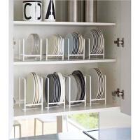 简约碗碟架厨房置物架沥水放碗放碟子架碗柜餐具餐盘收纳架子盘架
