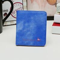 小钱包女短款薄女士钱包搭扣小零钱包女韩版学生迷你卡包方包简约
