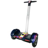 2018新款 电动平衡车双轮遥控代步车儿童扭扭车思维蓝牙智能体感车 10寸幻彩星空 蓝牙+遥控 36V