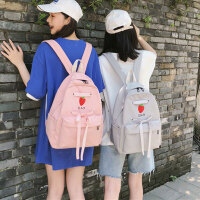 少女心书包女初中生小学生ins风双肩包韩版高中日系可爱防水背包