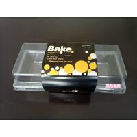 1670小瑞士卷面包毛巾千层盒长方形烘焙包装班戟透明吸塑料盒