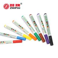 智牌彩色水性8色12色白板笔水彩笔125可擦易擦儿童绘画板专用标记笔涂鸦笔绘图笔