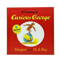 #英文原版 Treasury of Curious George 好奇猴乔治的宝藏 [精装]