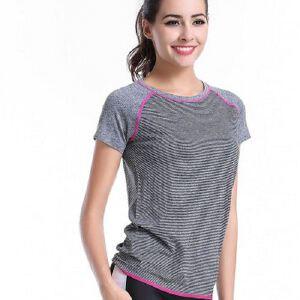 WA16吸湿排汗速干瑜伽健身跑步运动短袖