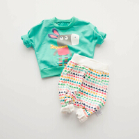 女婴儿童套装宝宝两件套新生儿衣服0岁3个月春装秋冬季休闲外出服