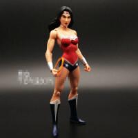 新52神奇女侠蝙蝠侠大战超人SUPERMAN 可动人偶玩具手办模型 DC