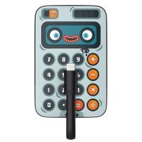 黑鱼同款充电宝可爱卡通迷你卡片式苹果移动电源便携通用