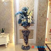 欧式落地大花瓶仿真花艺套装插花客厅装饰花摆件家居饰品摆设美式