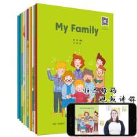 幼儿英语 预备级赠视频12册儿童英语启蒙教材分级阅读物书籍3-6岁口语 宝宝幼儿园小学生一年级自然拼读法幼儿英语分级阅读 入门级