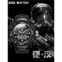 手表男战术青少年机械战 运动防水中学生电子表