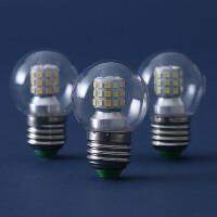 【支持礼品卡】灯泡e27大螺口节能7w高亮led暖光白光中性光三色变光创意球泡4hc