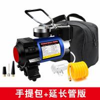 家用220V单缸充气泵便携式电动摩托汽车篮球打气筒12V车用打气泵