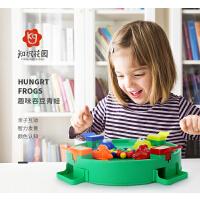 知识花园宝宝婴幼儿童亲子互动桌面益智游戏0-1-2-3-4-5-6岁大号抖音同款青蛙吃豆玩具学习机