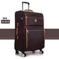 商务行李箱万向轮18英寸登机拉杆箱22英寸牛津布拉杆箱