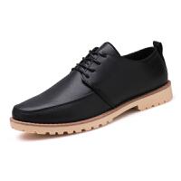 秋季新款小皮鞋男鞋商务正装英伦黑色尖头韩版休闲皮鞋工作鞋