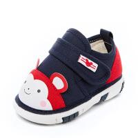 0-1-3岁女宝宝鞋子男童叫叫鞋软底鞋婴儿布鞋春秋学步鞋