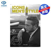 英文原版 男士风格的标志艺术书 Icons of Men's Style 形象搭配画册