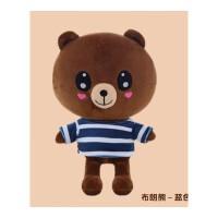 布朗熊公仔可妮兔大号毛绒玩具玩偶韩国抱枕生日礼物送女生抱抱熊抖音