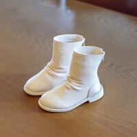 2018冬季新款女童靴子儿童公主保暖时装靴小女孩韩版马丁靴