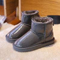 【活动价:126】儿童雪地靴子女童鞋短靴2019冬季新款男童宝宝鞋加绒加厚防水棉靴