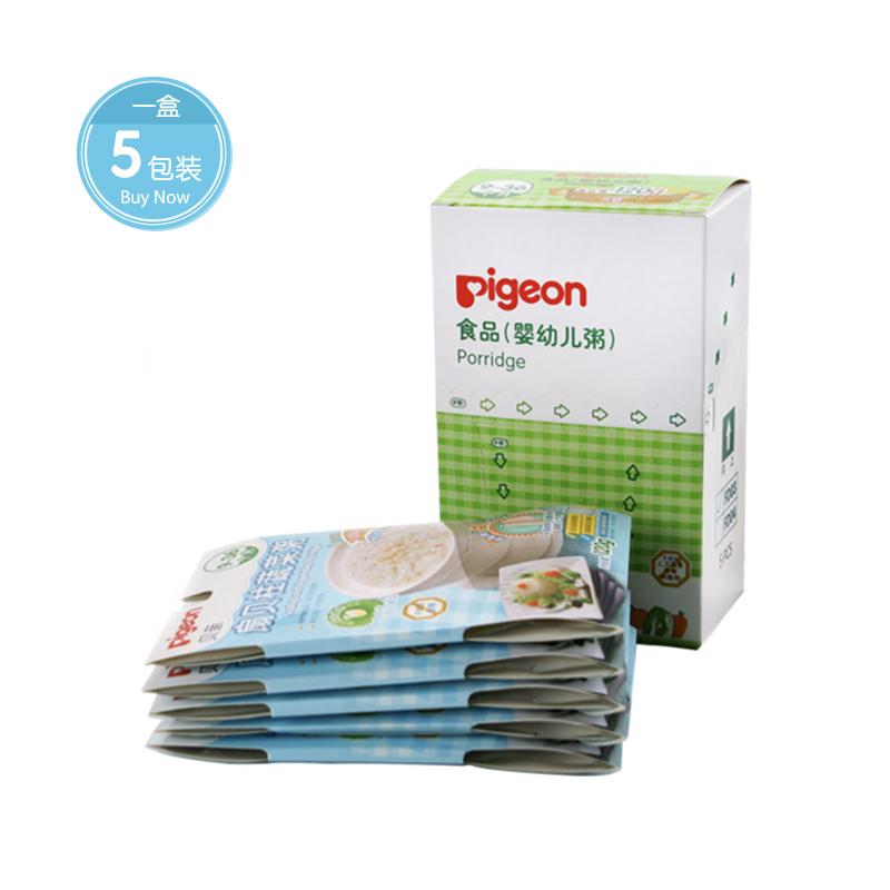 [当当自营]Pigeon贝亲 婴幼儿辅食 扇贝柱蔬菜粥 600g盒装适合7-36个月宝宝