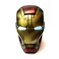 Disney迪士尼 香港CAMINO战损版钢铁侠11头盔蓝牙音箱漫威音响