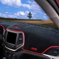吉普jeep自由光仪表台避光垫 自由光中控遮光垫反光垫 内饰