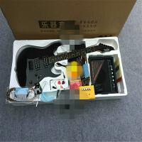 ?吉他初学者练习电吉他套装 入门吉他生日礼物?