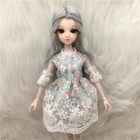 芭比娃娃 可儿娃娃改妆 可儿画眼娃娃 洋娃娃女孩礼物 开眼娃娃