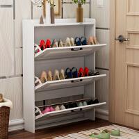 门口超薄翻斗鞋柜门厅柜简约现代小户型客厅北欧式多功能玄关柜
