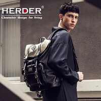 背包双肩包男大学生书包时尚潮流旅行包韩版休闲电脑包