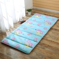 儿童全棉午睡垫子防滑床垫折叠单人加厚幼儿园学生地垫地铺垫