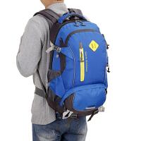 新款男士户外登山包大容量旅游旅行双肩包女韩版休闲运动书包