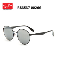 雷朋 RayBan太阳镜男 彩膜镜面时尚金属镜框可配近视墨镜潮RB3537