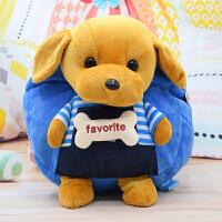 可爱兔子毛绒儿童书包卡通幼儿园背包1-3岁宝宝女孩小包包 双肩包