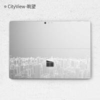 New Surface Pro 透明创意贴膜 微软笔记本电脑保护膜Surface Pr