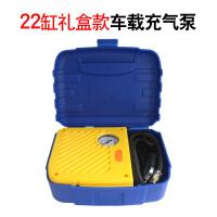 车载充气泵 汽车充气打气泵 车用12v便携式电动小轿车轮胎充气泵