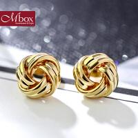 圣诞节礼物Mbox耳钉 气质女韩国版采用波西米亚风元素唯美耳钉耳环 甜蜜果实