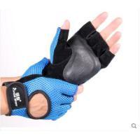 短指手套哑铃手套自行车手套骑行半指手套单车手套男女透气运动手套